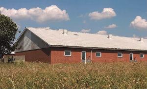 Bølgeeternit B5 på Landbrugsejendom
